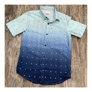 Old Navy Happy Blue Shirt for Boys, Size L(10-12)